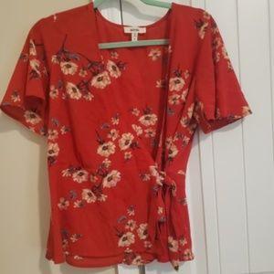 Womens flower blouse